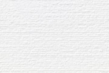 Weiß gekalkte Ziegelsteinmauer