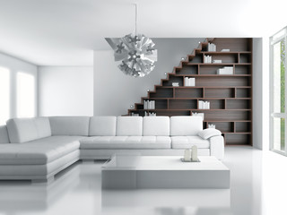 High key Living room
