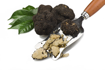 freshly harvested truffles
