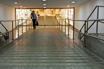 Eingang zum Kaufhaus