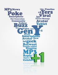 gen y , generation Y, yers, digital native
