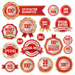Set of business badges and stickers