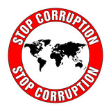 stop corruption poster