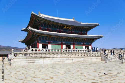 Foto op Plexiglas Bedehuis Gyeongbokgung palace
