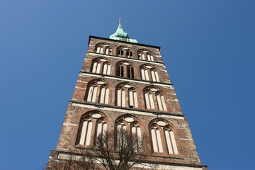 Südturm der Nikolaikirche von Stralsund