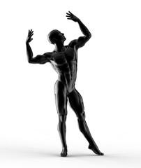 man, statue design