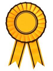 Yellow Ribbon award with border