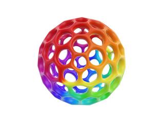 hollow honeycomb cell ball
