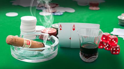 Poker sigaro dadi