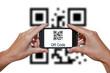QR code smartphone