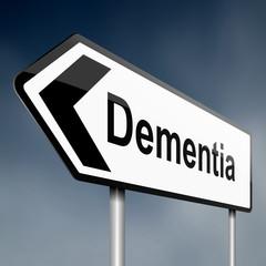 Dementia concept.