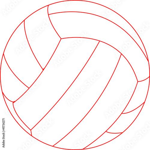 Pallone da pallavolo immagini e fotografie royalty free - Campi da pallavolo gratis stampabili ...
