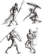 Ancient Gladiator Sketches - 41736457