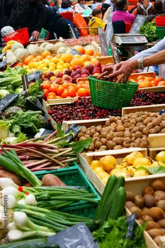 légumes au marché - 41736493