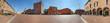 Carpi, piazza Martiri a 360°