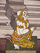 Hanuman, Mural painting in Thai royal temple