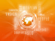 Background Webplan, Social, Orange, Orange Earth