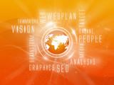 Background Webplan, Social, Orange, Orange Earth