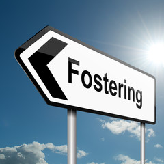 Fostering concept.