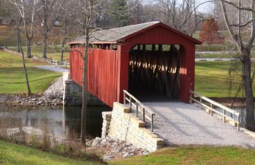 Cataract Covered bridge in Indiana