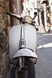 old white scooter