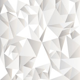 White crumpled abstract background - 41742672