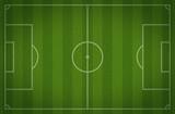 Fototapety soccer field