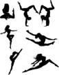 Dancers silhouettese Collection