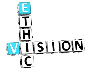 3D Ethic Vision Crossword