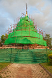 Reconstruction of pagoda
