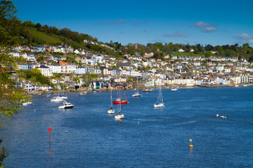 The historic naval town of Dartmouth in Devon