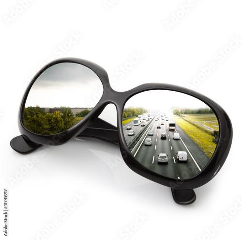 occhiali autostrada