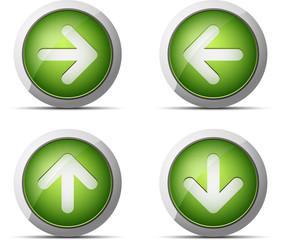 Green Arrow buttons