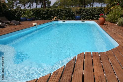 Zbliżenie prywatny basen