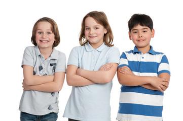 drei junge schüler