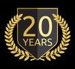 laurel wreath 20 year