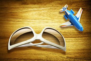 sunglasses plane euros