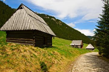 Tatry-Dolina Chochołowska bacowki