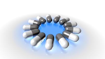 medicinal capsules