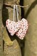 Zwei Herzen, Liebe, romantisch, gemeinsam, Ähnlichkeit