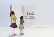 Les fournitures scolaires : calcul mental