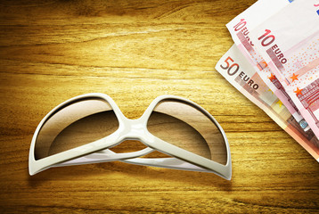 sunglasses euros desk