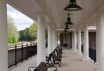 Valley Forge National Historical Park Train Station