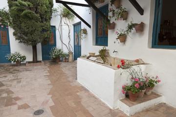Patio interior en el Palacio de Viana, Córdoba