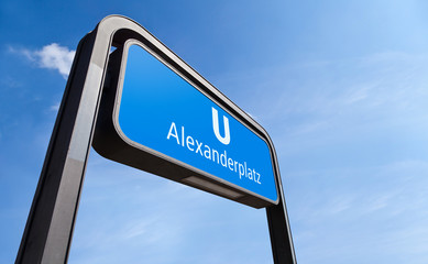 Alexanderplatz Sign, Berlin