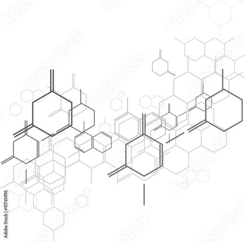 Fototapeta molecular BG