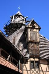 toit et moulin à vent