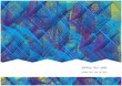 vector background with symmetrical rectangular shapes