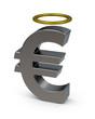 Euro mit Heiligenschein