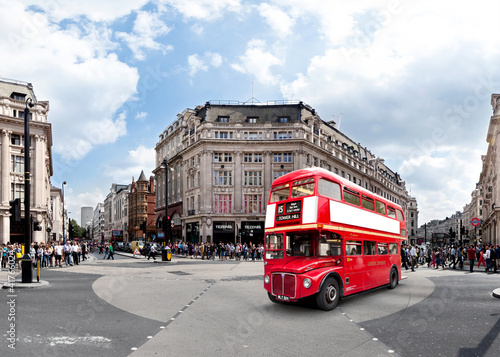 canvas print picture London Oxford Circus